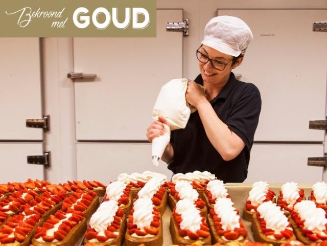 Aardbeienslof Bakkerij Kees Gutter bekroond met goud