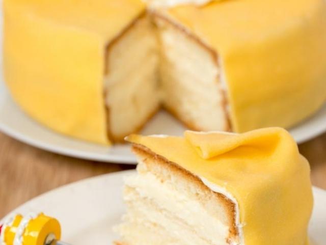 Kleintje taart marsepein