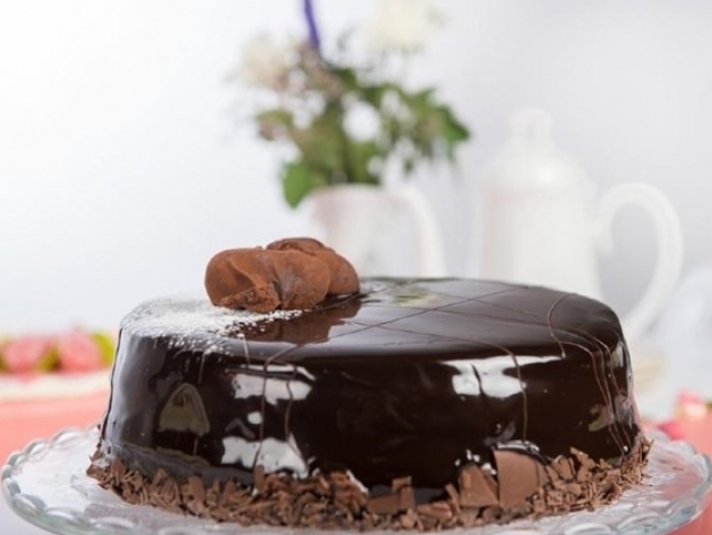 Kleintje taart chocolade