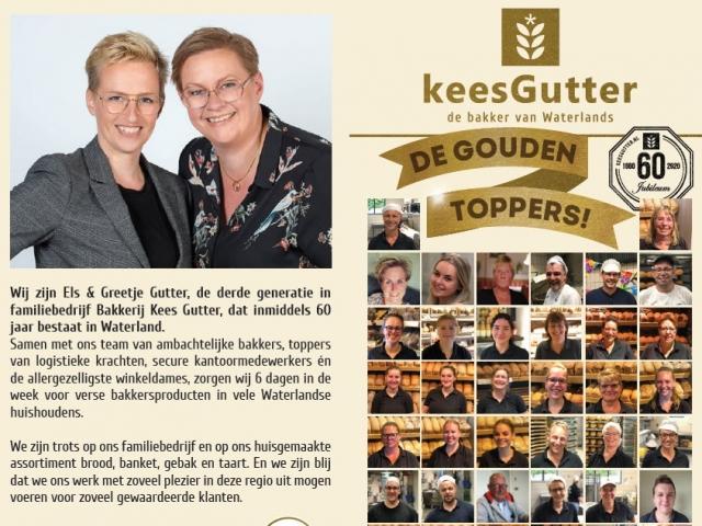 Gouden Toppers flyer